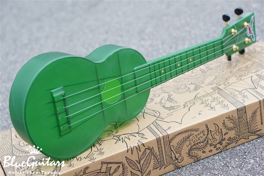 OUTDOOR UKULELE Soprano - Green Gold