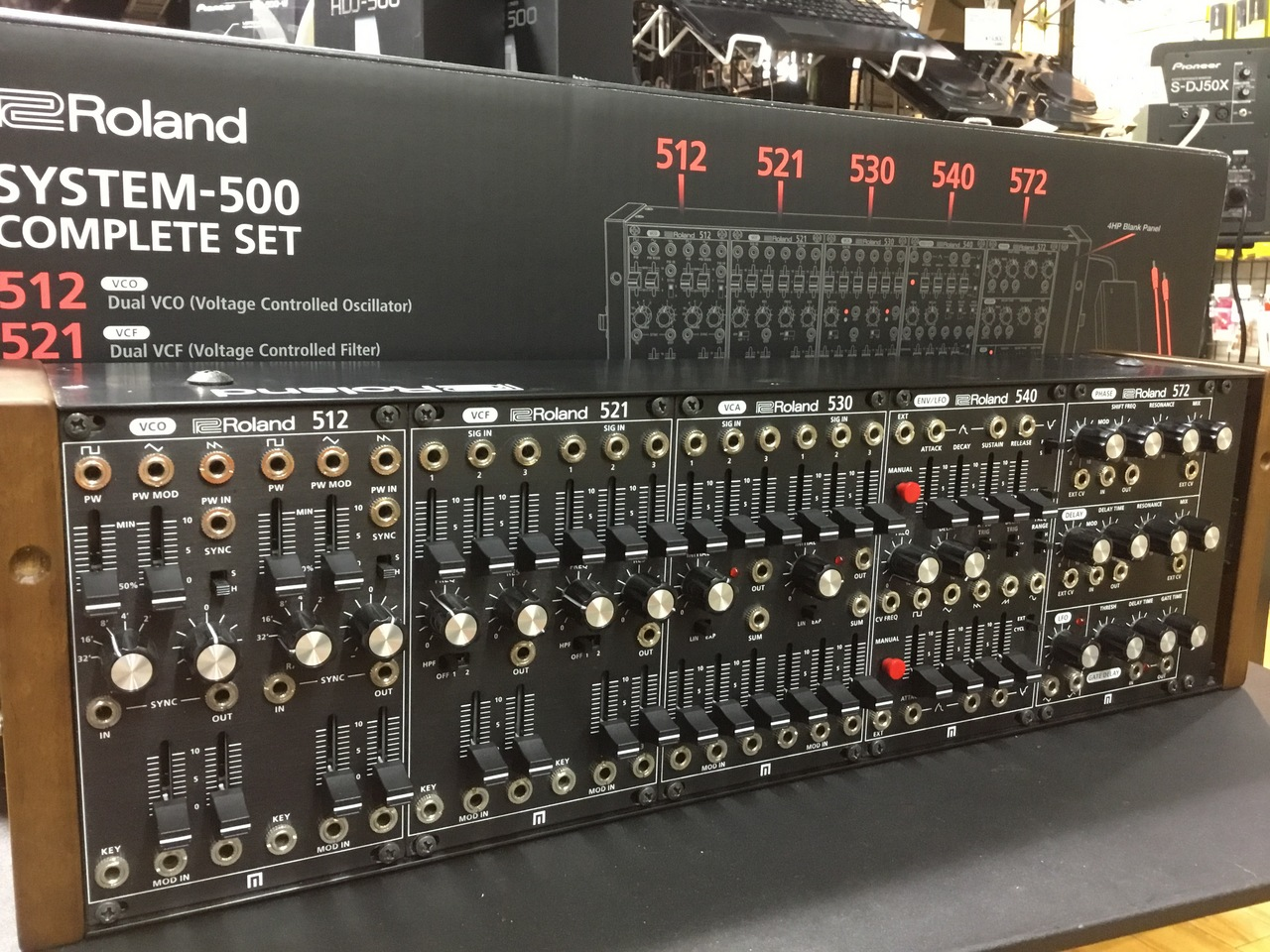 Roland SYSTEM-500 Complete Set Modular Synthesizer / SYS-500 モジュラーシンセ