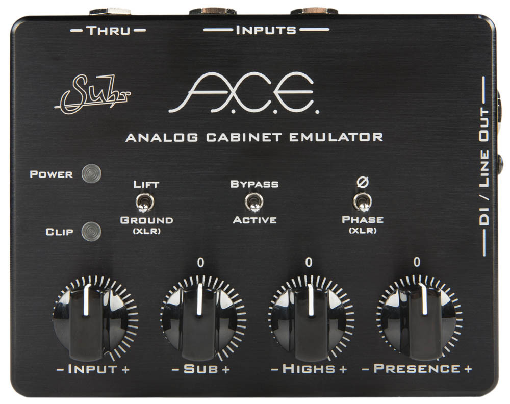 Suhr (regular imports) ACE [next-generation analog cabinet emulator has evolved into another dimension] []