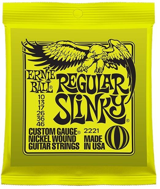 ERNIE BALL # 2221 Reguler Slinky