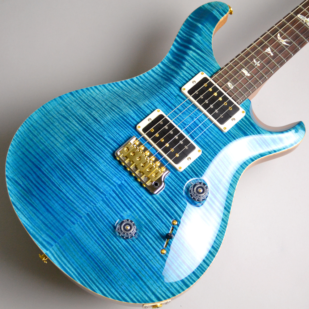 Paul Reed Smith(PRS) (ポールリードスミス)Custom24 10top Flame/Blue Matteo【現品画像】