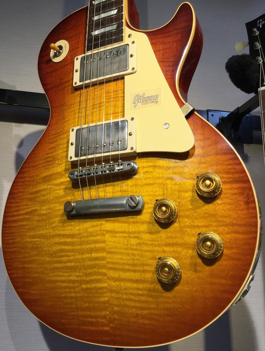 Gibson Custom Shop Historic Collection 1959 Les Paul Reissue Hand Select Top VG Caspian Tiger  s/n 982905 【3.98kg】