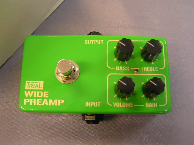 TRIAL WIDE PREAMP