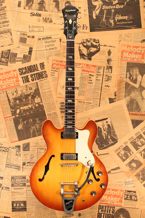 "Epiphone 1964/65 E360TD ""RIVIERA"" 64 Specification"