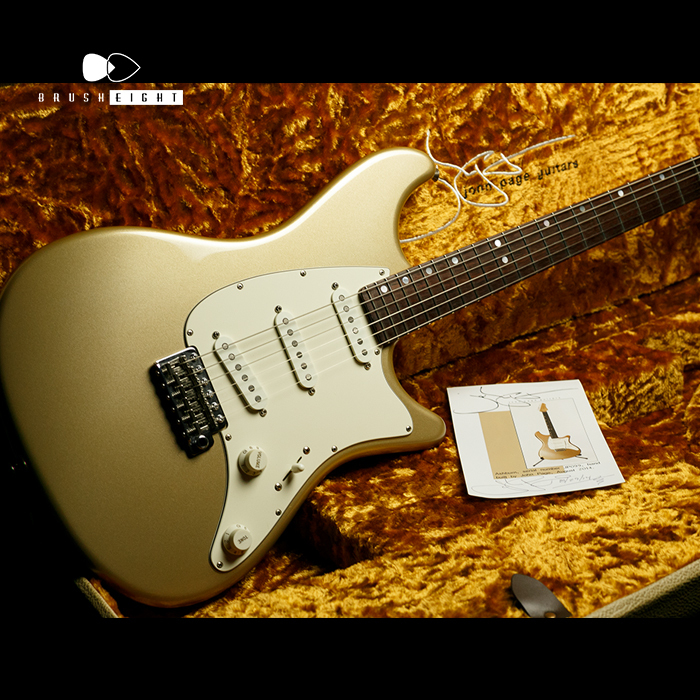 "John Page Guitars 【動画有】John Page Guitars ""Ashburn"" Hand Build by John Page ♯JP099 2014's"