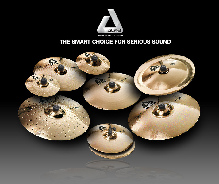 PAiSTe ALPHA Rock BOX [14HH / 20Ride / 18Crash / 16Crash] [1Set limited bargain basement !! 56% OFF !!!!]