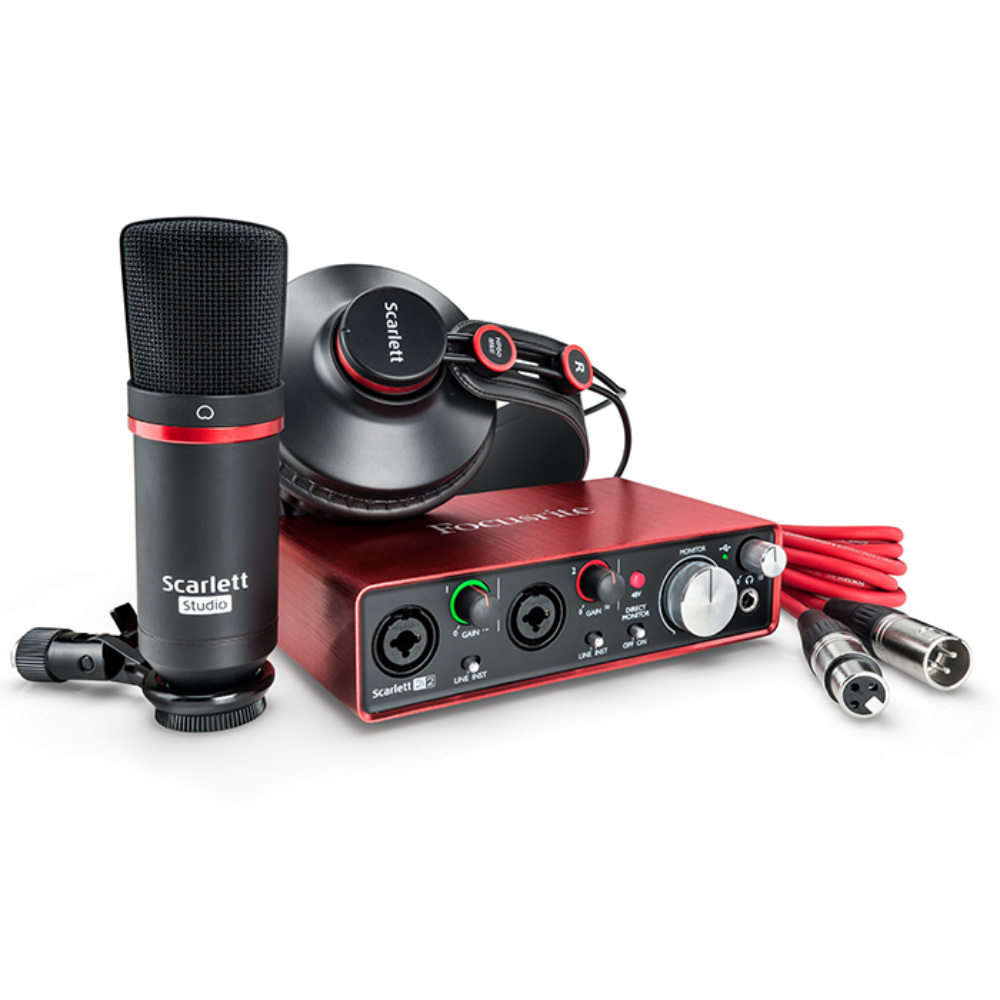 Focusrite scarlett 2i2 studio pack G2 [possible instant delivery!] [!]