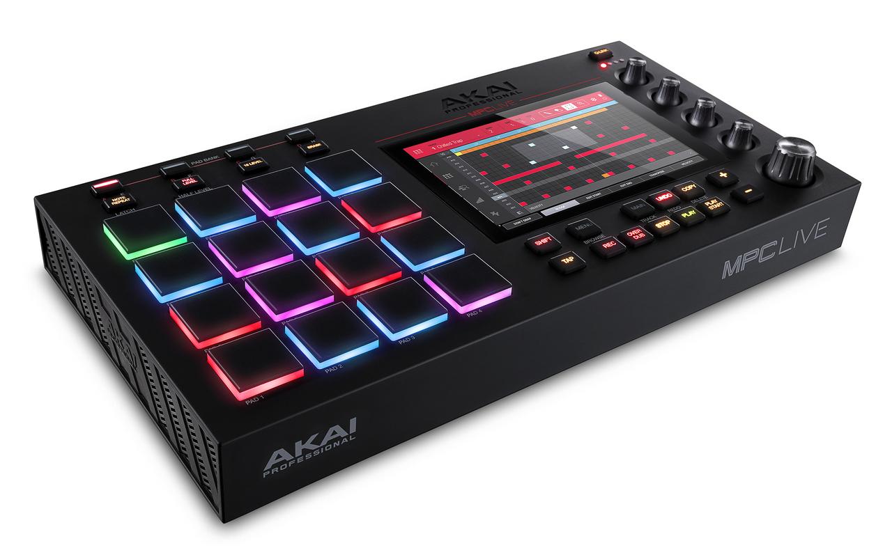 AKAI MPC LIVE [stock]