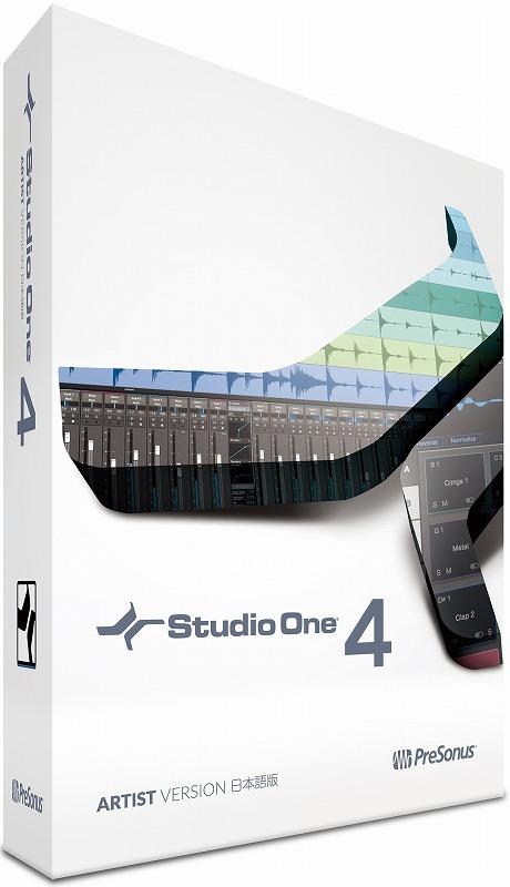 PreSonus Studio One 4 Artist DAWソフト 【横浜店】