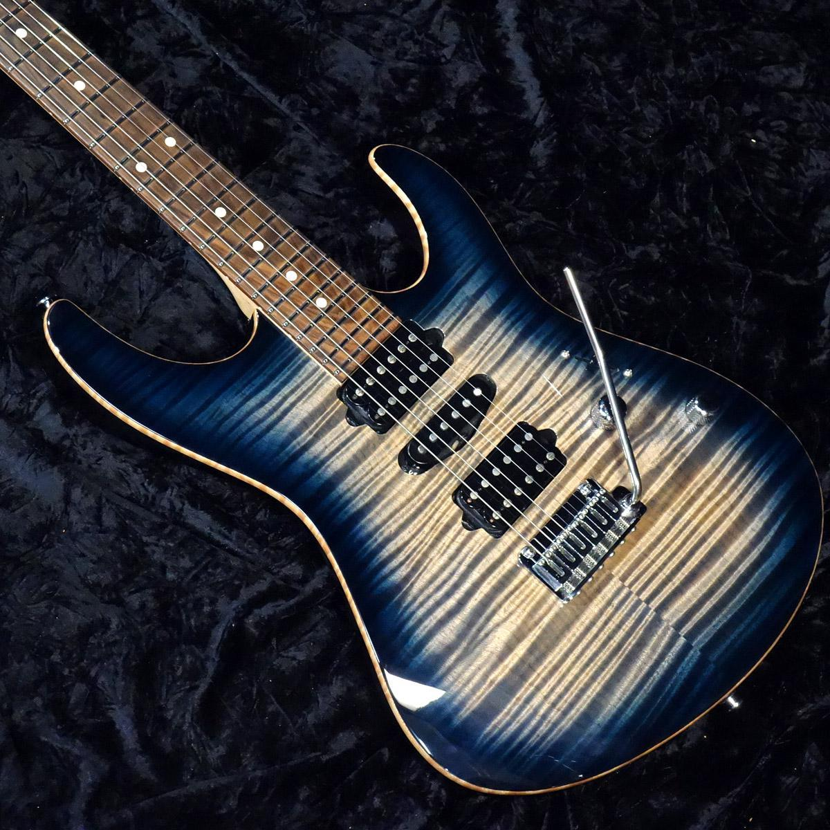 Suhr Modern Pro Faded Trans Whale Blue Burst