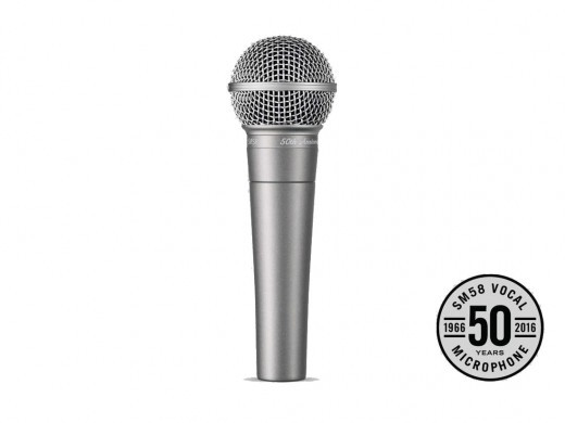 Shure SM58 50th Annyversary [50th limited Memorial model!] []