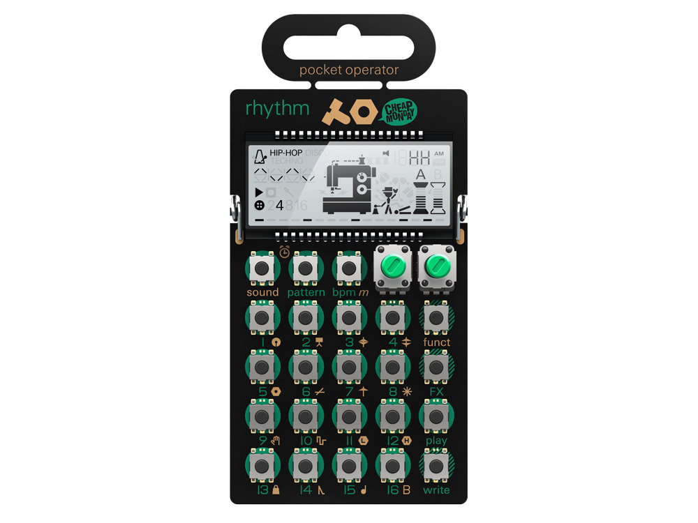 Teenage Engineering PO-12 rhythm [drum by the synth engine sound!] [Allows instant delivery;