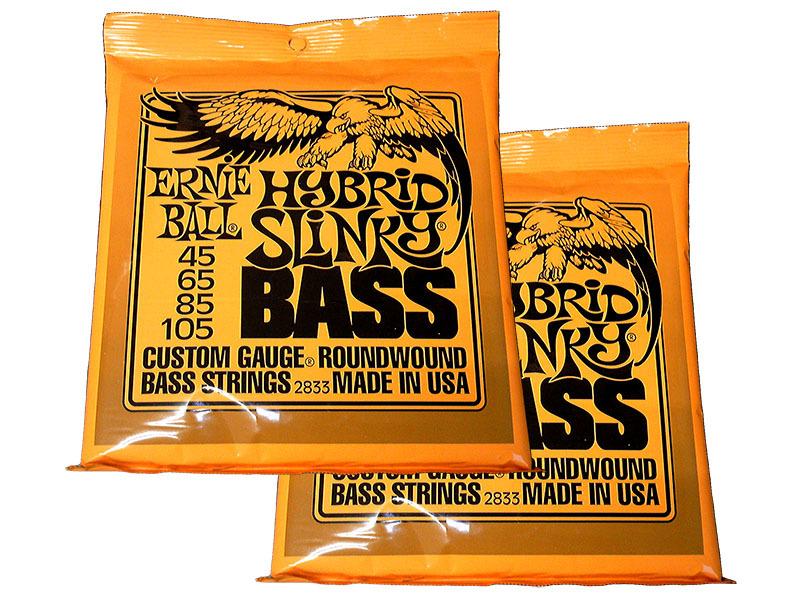ERNIE BALL 2833 (.045-.105) Bass Strings × 2 set [bargain] [mail postage -