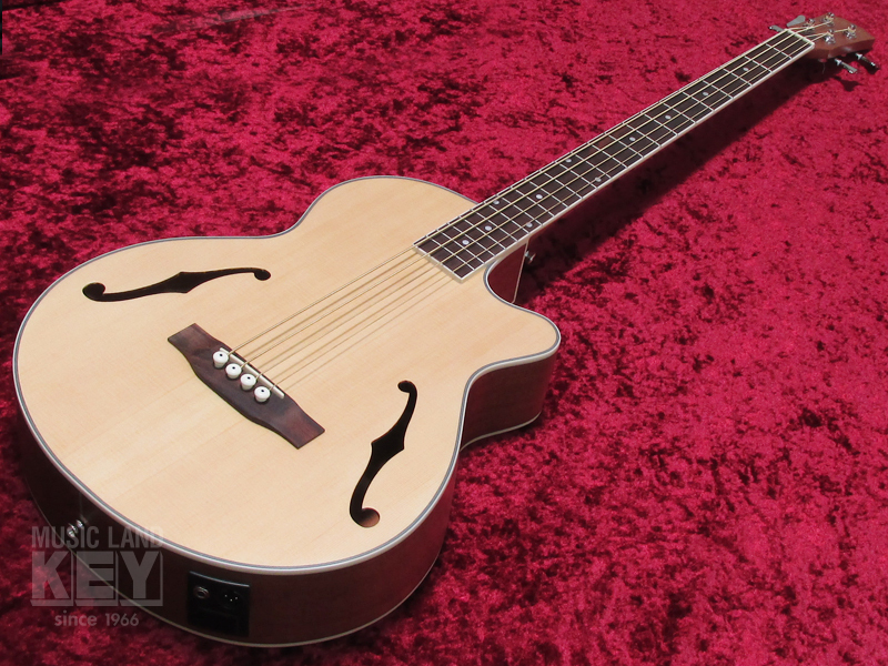 URIEL UNB-200F CE NS [original order !! F-hole type of acoustic bass !!