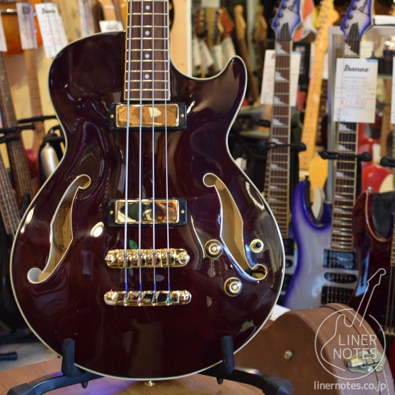 Ibanez Artcore Bass AGB200 (Transparent Brown)