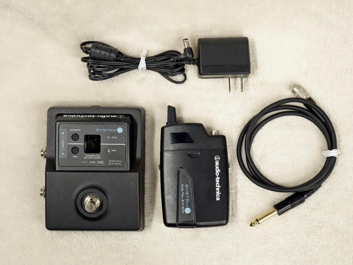 audio-technica ATW-1501 SYSTEM 10 guitar wireless system