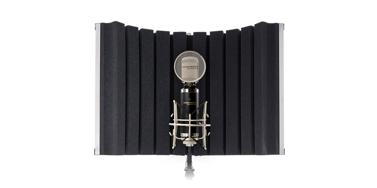 marantz Professional SOUND SHIELD COMPACT [lightweight and compact !! Vocal reflection filter!]