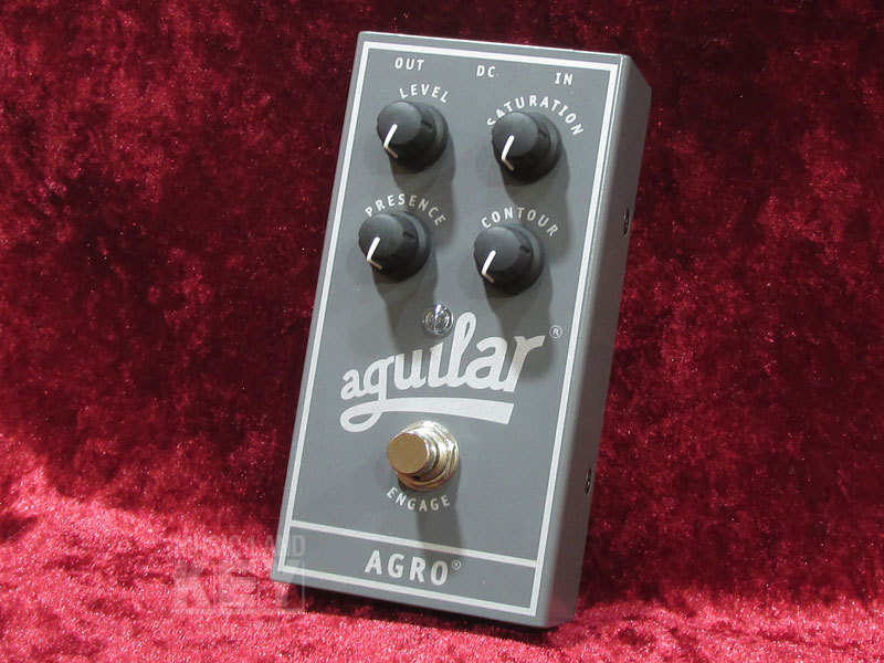 aguilar AGRO [bargain basement 44% OFF !! tube feeling comfortable base distortion pedal!]