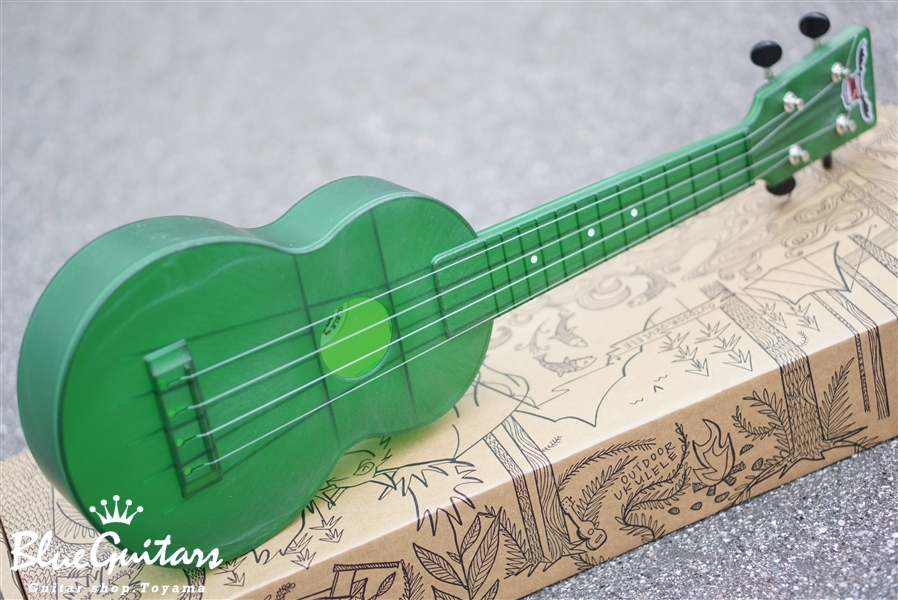 OUTDOOR UKULELE Soprano - Green Nickel