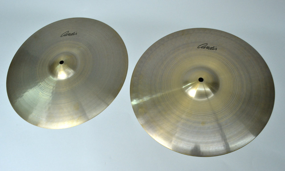 Zildjian exhibition bargain basement price! A. Abedisu AA15HT / AA15HB high hat set []