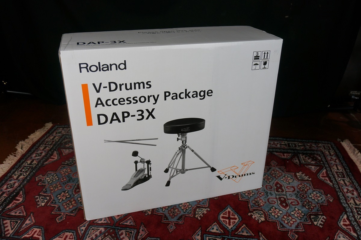 Roland DAP-3X used [unused hand goods !! kick pedal, is the drums loan, a set of stick. ]