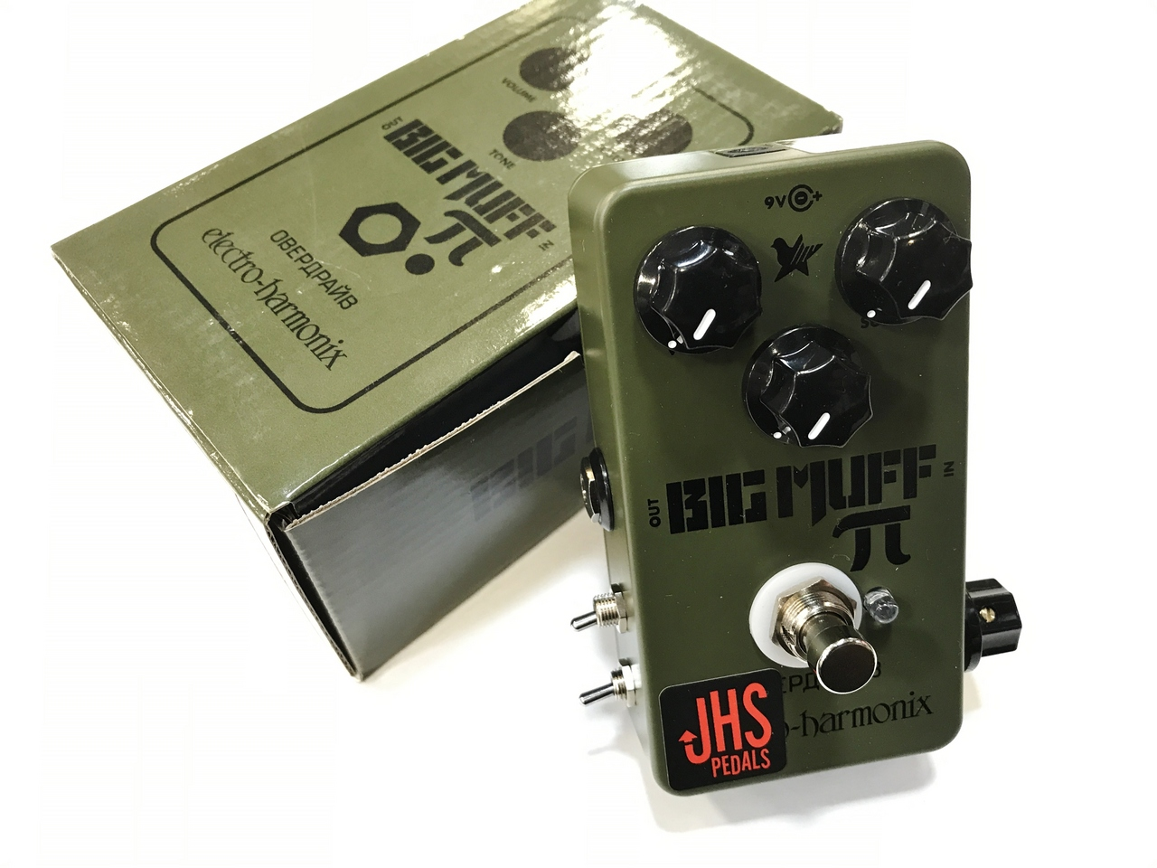 "JHS Pedals Electro-Harmonix EHX Green Russian Pi ""Moscow Mod"" [fuzz] [modify] [You can instant delivery!]"