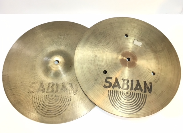 "SABIAN FLAT HATS 14 ""- Limited SALE !!] [used article]"