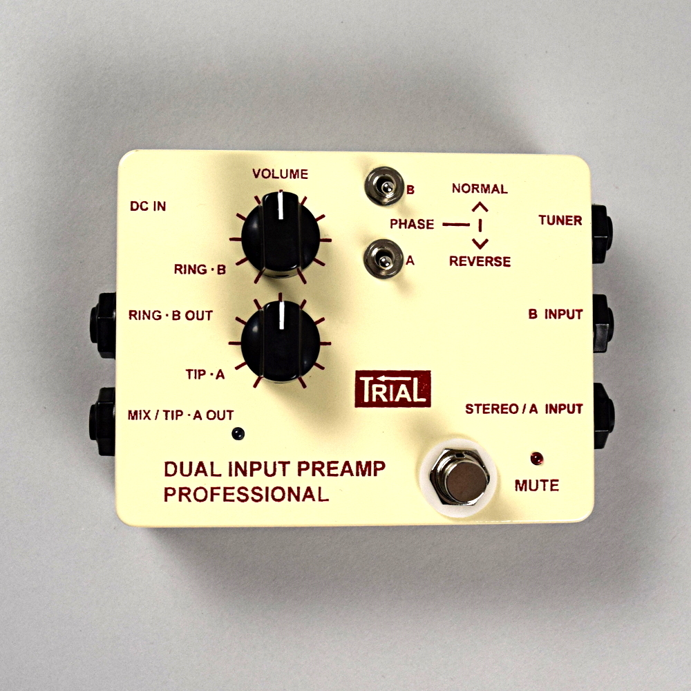 TRIAL Dual Input Preamp Professional