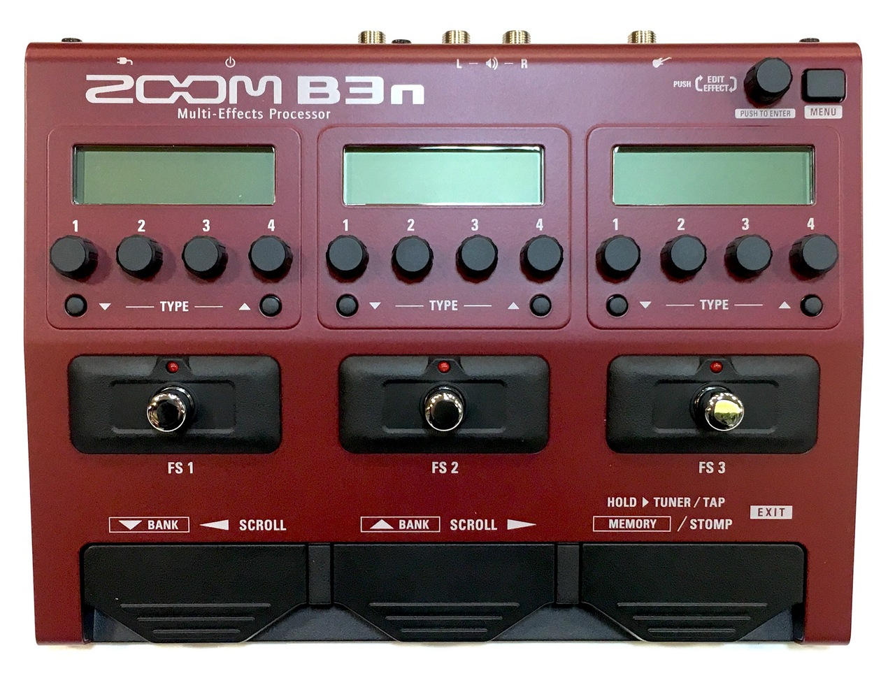 ZOOM B3n Multi-Effects Processor for Bass [multi-effector for the base] [You can instant delivery!]