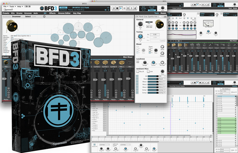 fxpansion BFD3 Upgrade from BFD2 w / USB 2.0 Flash Drive