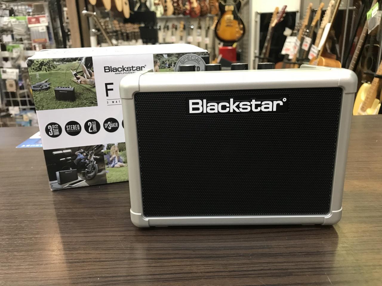 Blackstar Fly 3 Silver Limited 【即納できます!】【ミニギターアンプ】【限定モデル】