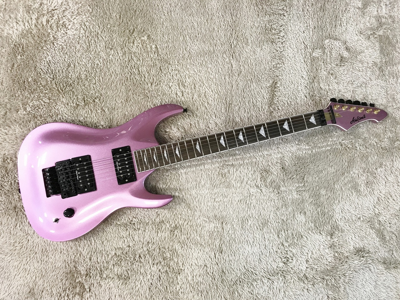 Aria Pro II MAC-Slasher Metalic Purple (MP) Outlet Specials] [production completion model]