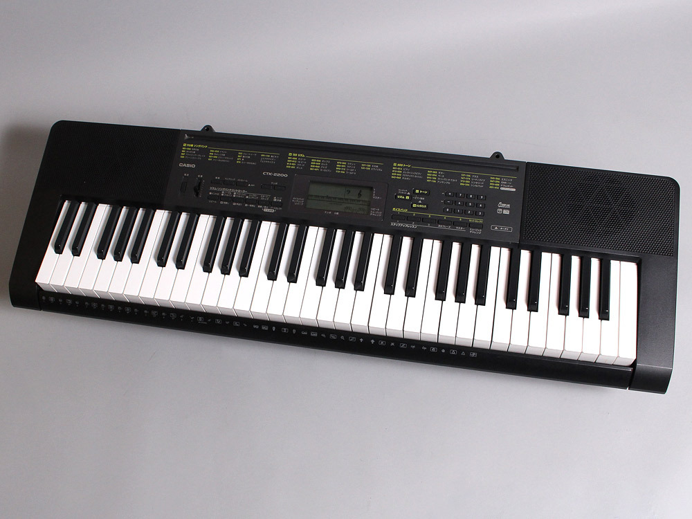 Casio CTK-2200 - With a soft case]