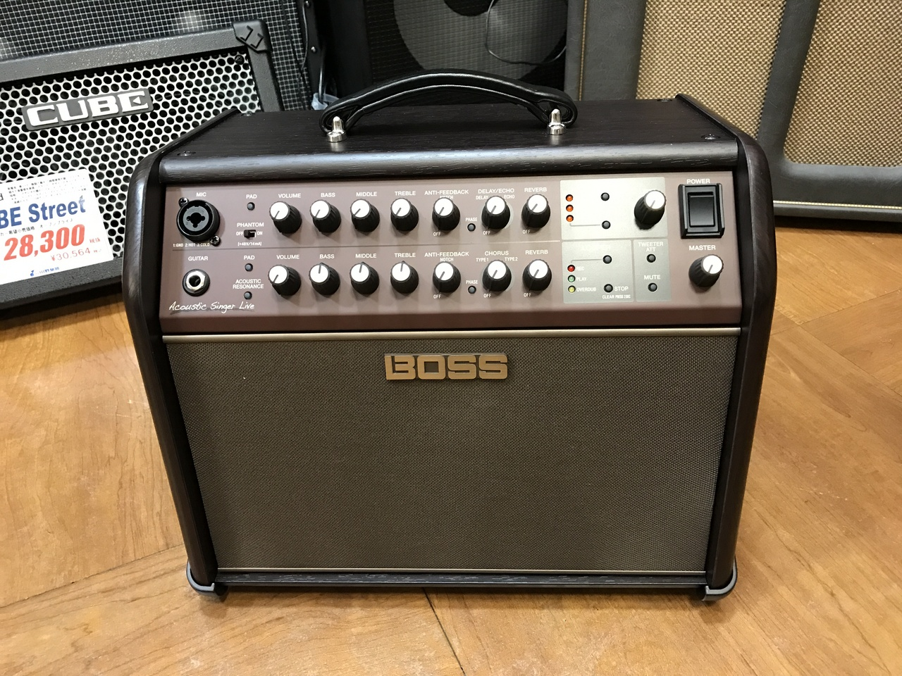 BOSS ACS-LIVE Acoustic Singer Live [Acoustic Amplifier] [instant delivery accepted]