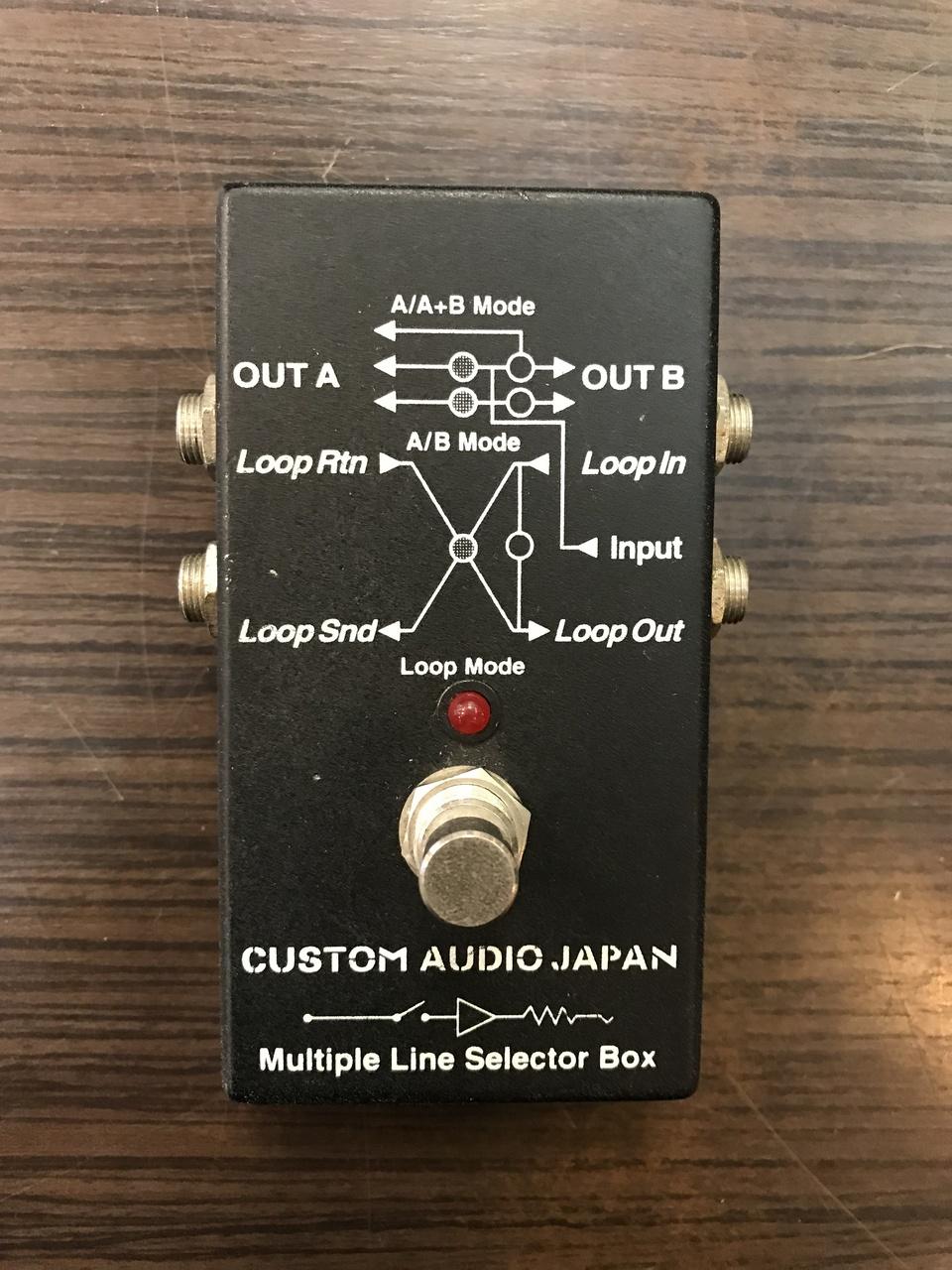 Custom Audio Japan (CAJ) MLS-2 Multiple Line Selector Box [used article] [line] Selector
