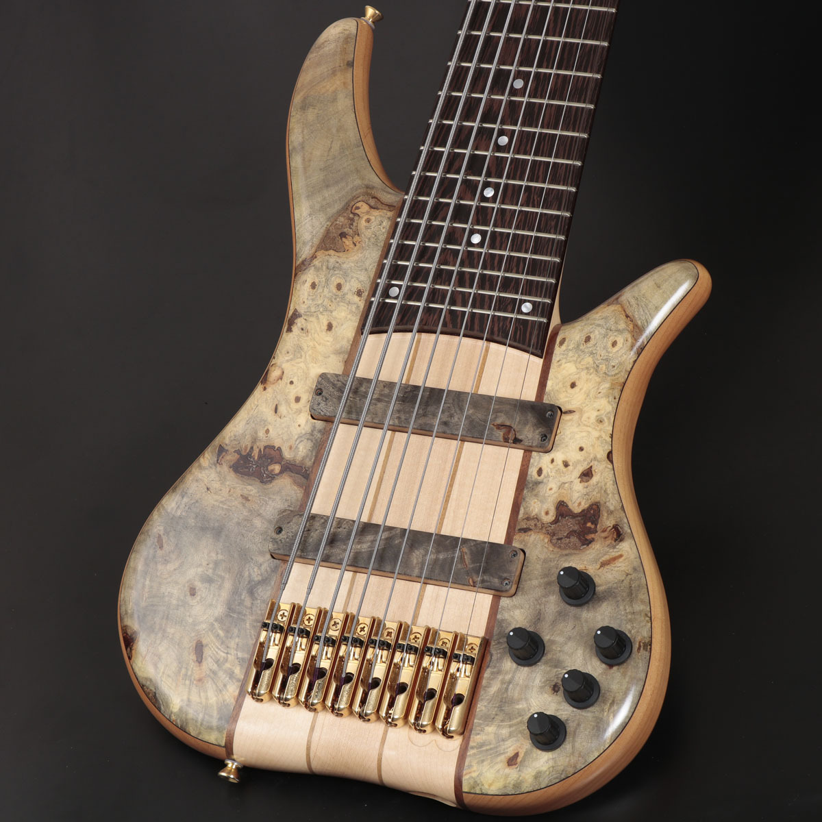 "Tune Phoenix Series PH3-8 33inch 8string Buckeye Burl Top""(s/n:18071)【御茶ノ水本店】"