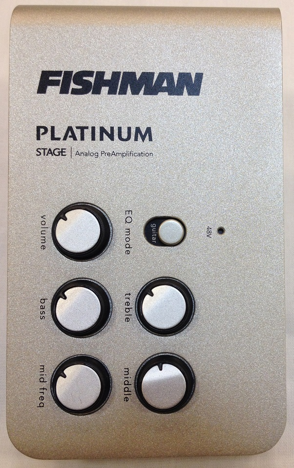FISHMAN PLATINUM STAGE [exhibition disposal Specials