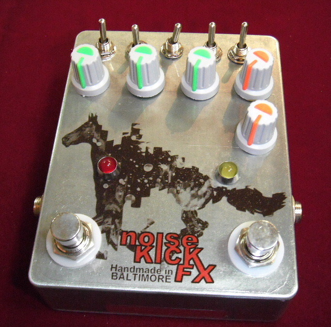 Noisekick Fx The Horsey 【市場希少】【Big Muff+Super Fuzzの轟音サウンド】[DM500]