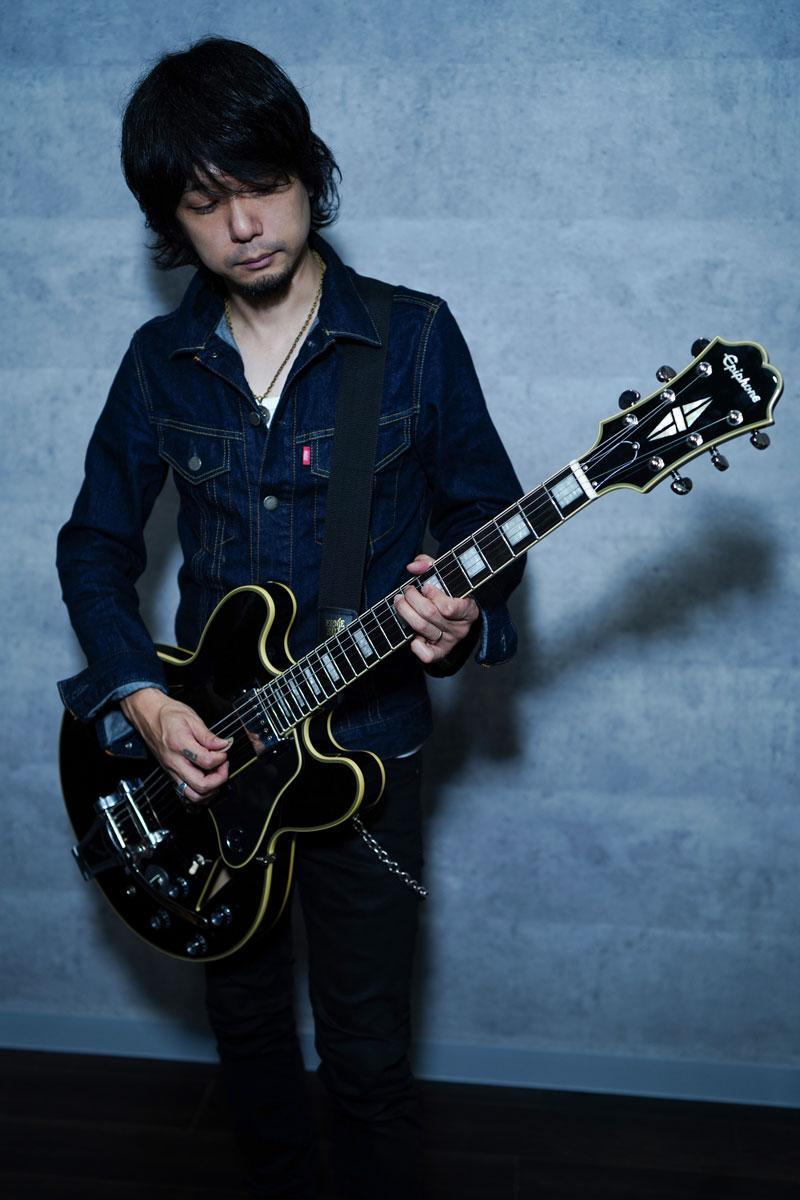 Epiphone Limited Edition Shinichi Ubukata ES-355 Custom Ebony Outfit【予約受付中!!】