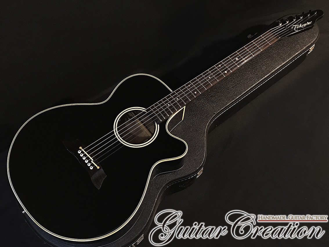 Takamine PT-106-6 '92年製【Black / Matching Head】
