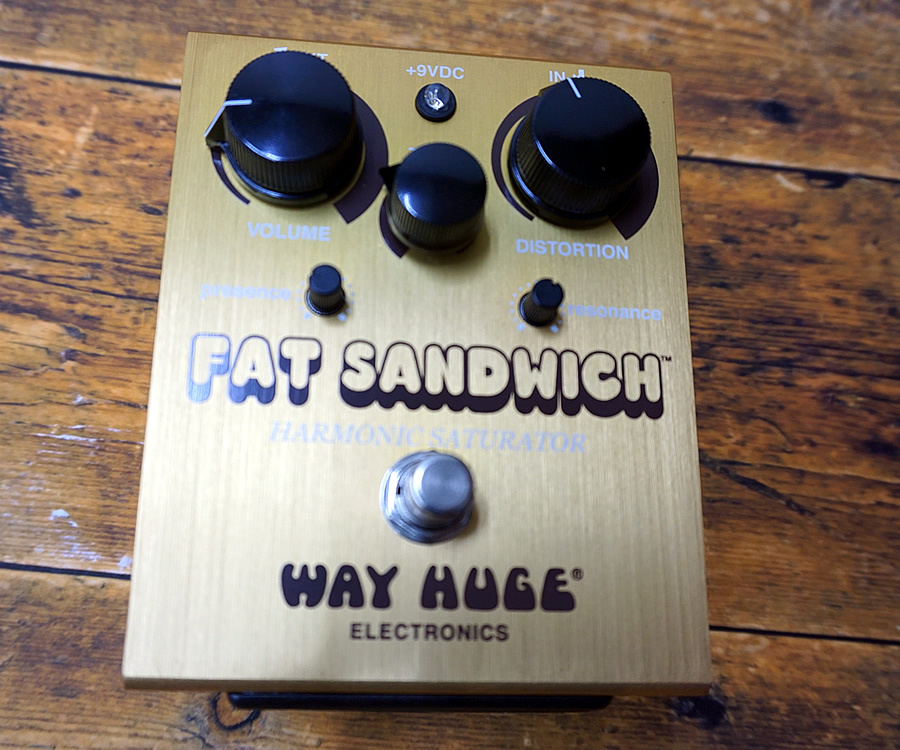 Way Huge WHE301:FAT SANDWICH  DISTORTION