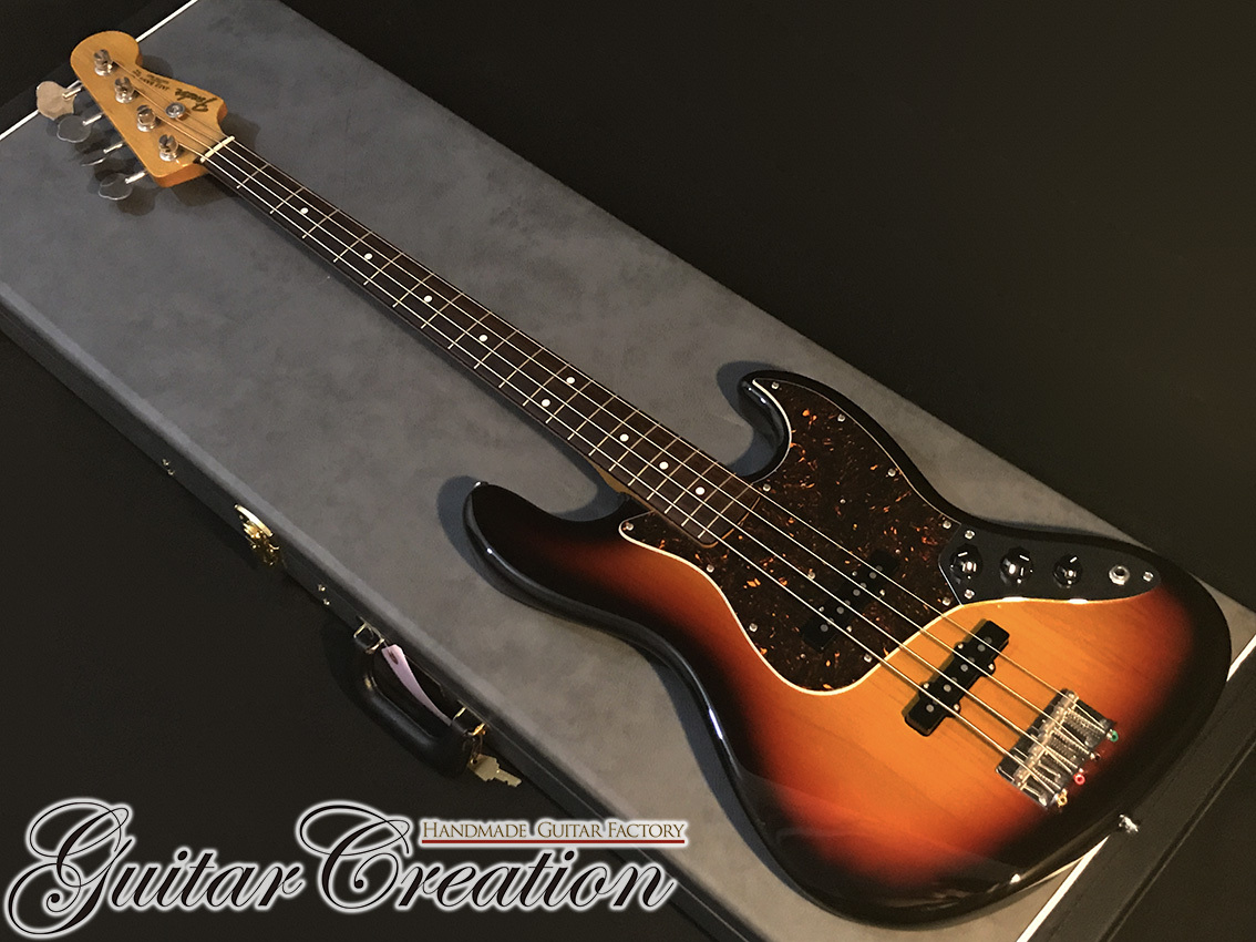 Fender Japan Exclusive Classic 60s Jazz Bass #3TS 2016年製【USA Pickups】w/GIG Case 4.11kg