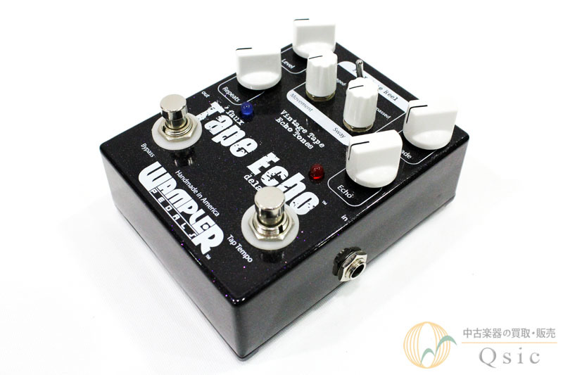 Wampler Pedals Faux Tape Echo with Tap Switch [WF315]