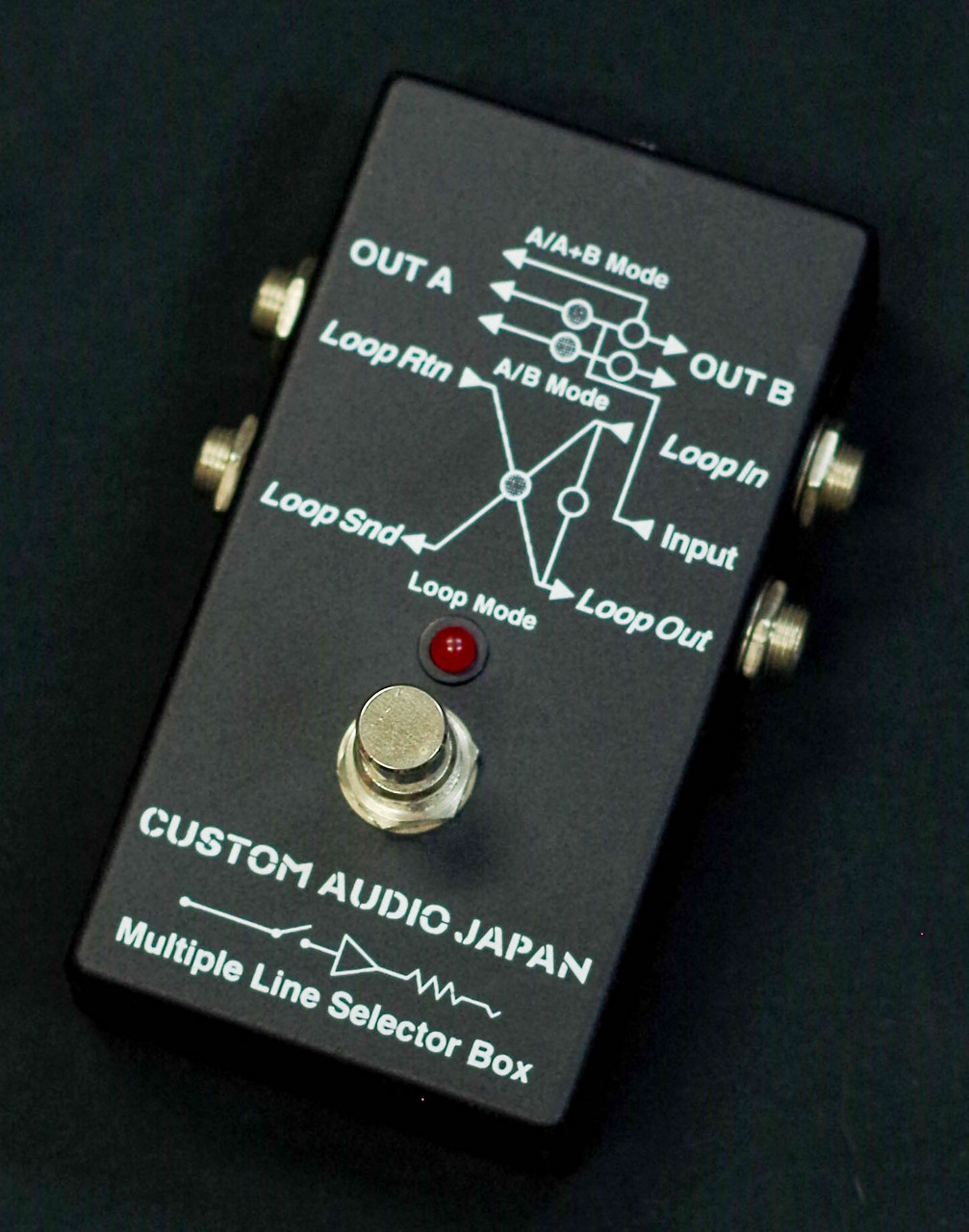 Custom Audio Japan(CAJ) Multiple Line Selector Box