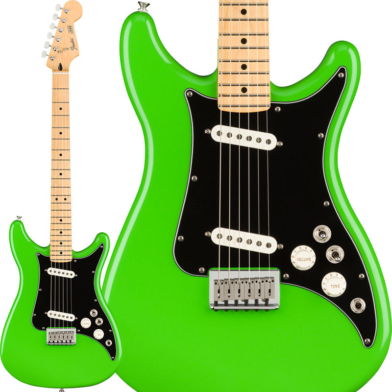 Fender Mexico Player Lead II (Neon Green/Maple) [Made In Mexico] 【特価】