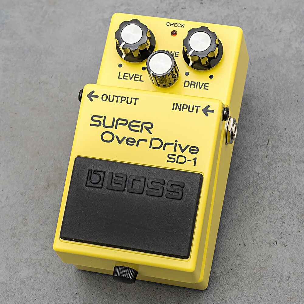 BOSS SD-1 SUPER OVER DRIVE [sweet, mild classic drive pedal!]