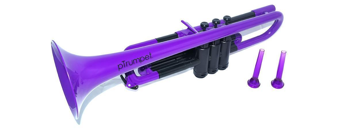 pInstruments pTrumpet Purple plastic trumpet] [instant delivery]