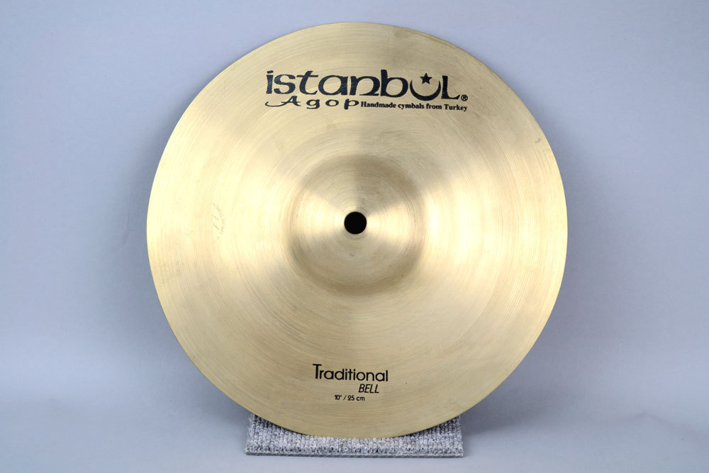 ISTANBUL AGOP TRAD bell 10 Agoppu Traditional bell 10 inches exhibit good bargain