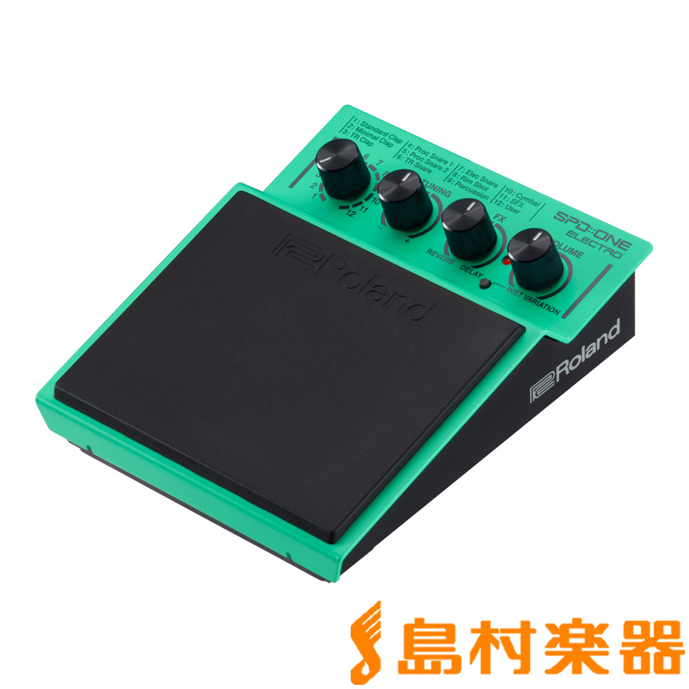 Roland SPD :: ONE ELECTRO digital percussion
