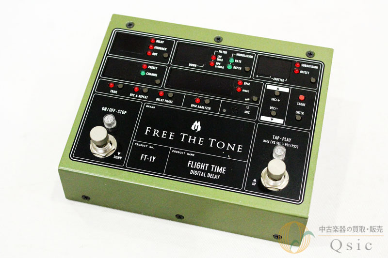 Free The Tone FLIGHT TIME FT-1Y [UE206]